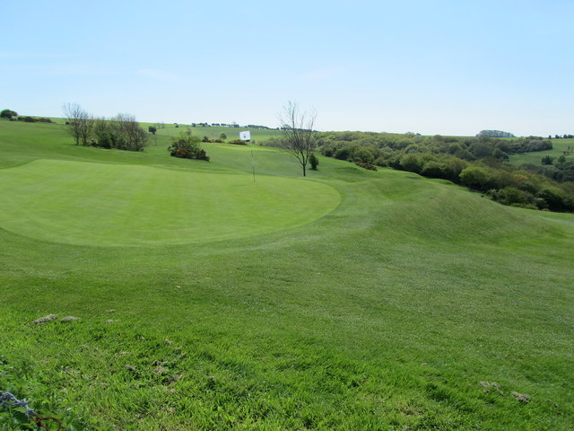 Part of Pyecombe Golf Course