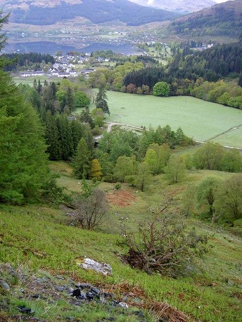 Across Inveronich to Lochgoilhead
