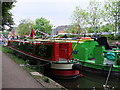 TQ0593 : Narrow boat, Dick's Folly on the Grand Union Canal at Rickmansworth by PAUL FARMER