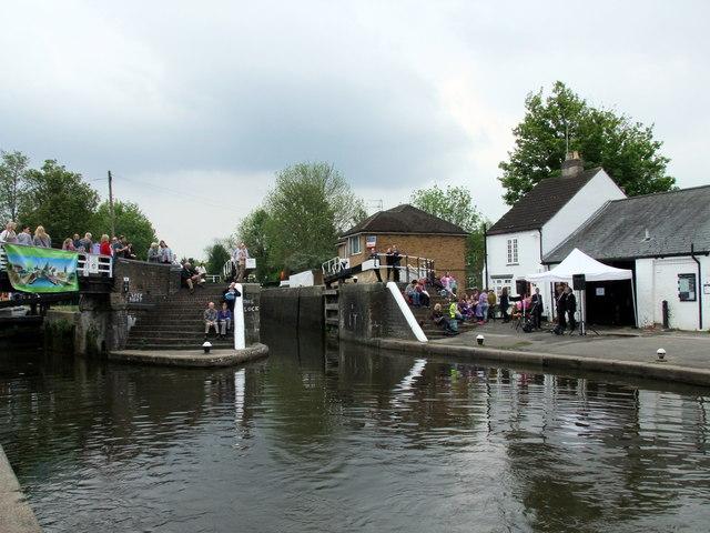 Batchworth Lock, Grand Union Canal at Rickmansworth