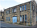 SE1825 : Cleckheaton - former Drill Hall on Whitcliffe Road by Dave Bevis