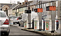 J0539 : Disused petrol pumps, Poyntzpass by Albert Bridge