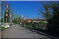 SU7251 : North Warnborough - Drawbridge by Chris Talbot