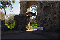 SU7251 : North Warnborough - Odiham Castle by Chris Talbot