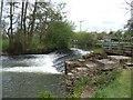 SO4358 : Weir at Arrow Mill by John M