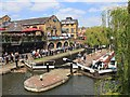 TQ2884 : Hampstead Road Lock, Regent's Canal by David P Howard