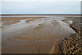NX9052 : Mersehead Sands by Walter Baxter