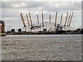TQ3980 : River Thames, The O2 Arena by David Dixon