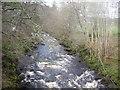 NJ5340 : Looking upstream River Deveron by Stanley Howe