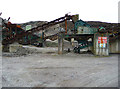 NF8773 : Crogaire Beag Quarry by John Allan
