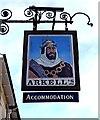 SU2092 : Saracens Head Hotel (2) - sign, High Street, Highworth by P L Chadwick