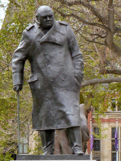 Sir Winston Churchill Statue, Parliament Square