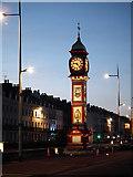 SY6879 : Weymouth Jubilee Memorial Clock by John Lucas