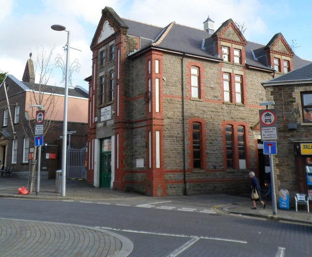 Grade II listed Colonel North Memorial Hall, Maesteg
