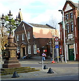 SS8591 : Maesteg Monument by Jaggery