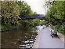 TQ2783 : Regent's Canal, Bridge#10 by David Dixon