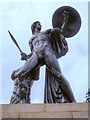 TQ2880 : Wellington Monument (Achilles) by David Dixon