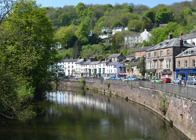Matlock Bath from Jubilee Bridge