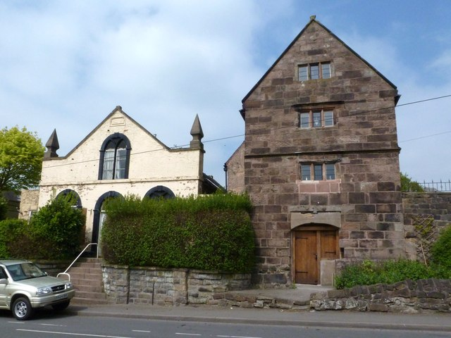 Temperance Hall  and the Old Smithy