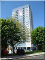 TQ2583 : Mary Green tower block viewed from the east, London NW8 by Jaggery
