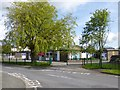 SD5376 : Burton-in-Kendal, primary school by Mike Faherty