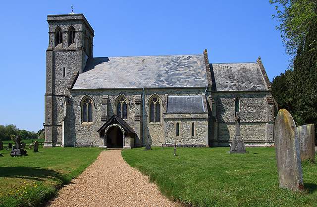 All Saints' church, Dogmersfield