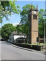 SD7605 : Kearsley - Ringley Church Tower by Dave Bevis