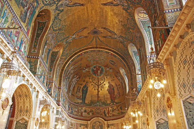 Westminster Cathedral - Chapel ceiling