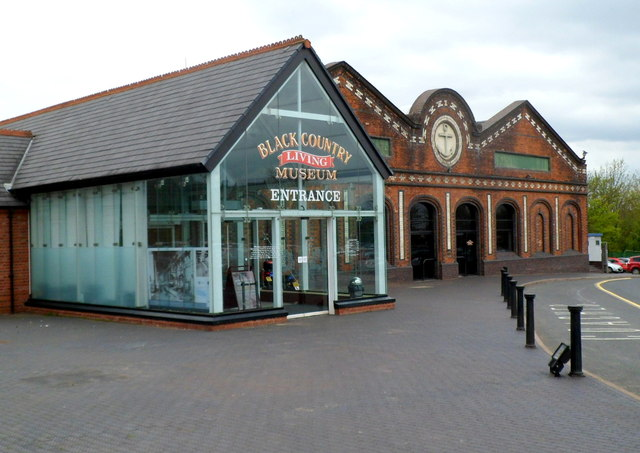 Entrance to the Black Country Living Museum, Dudley
