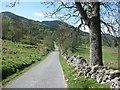 NN8659 : The South Loch Tummel Road by Richard Webb