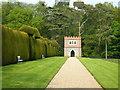 TQ9457 : Folly Walk, Doddington Place garden, Doddington by pam fray