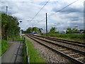 TQ3165 : Looking towards Waddon Marsh Tramlink Stop by Marathon