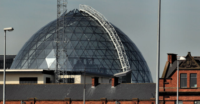 The Victoria Square dome, Belfast