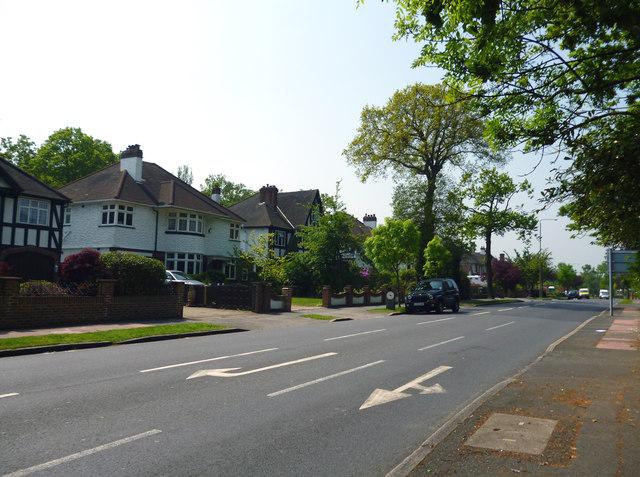 Bromley:  Barnfield Wood Road