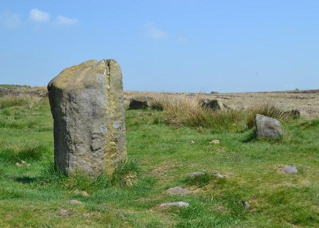 Barbrook I - Stone Circle on Big Moor
