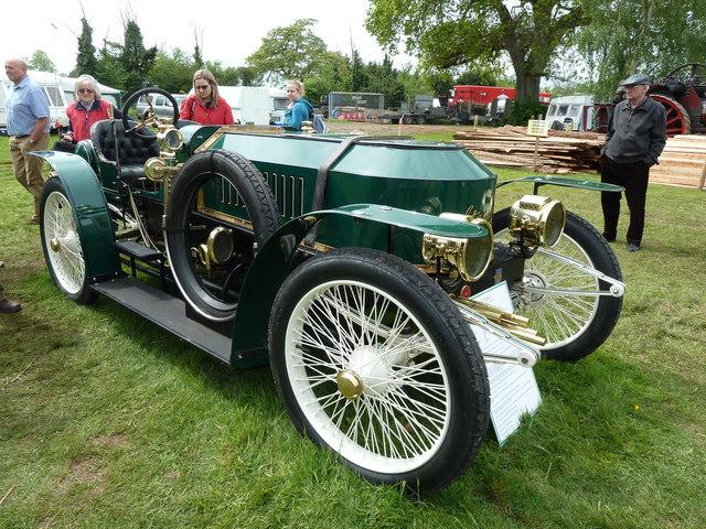 Devon County Show - 1908 Stanley steam car