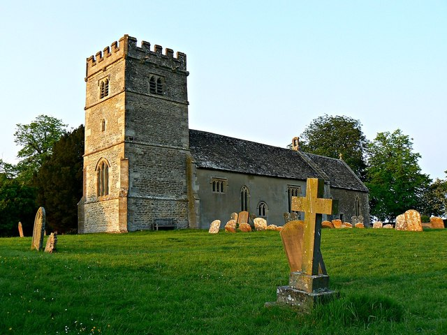 South elevation, the Church of St Giles, Great Coxwell, Oxfordshire