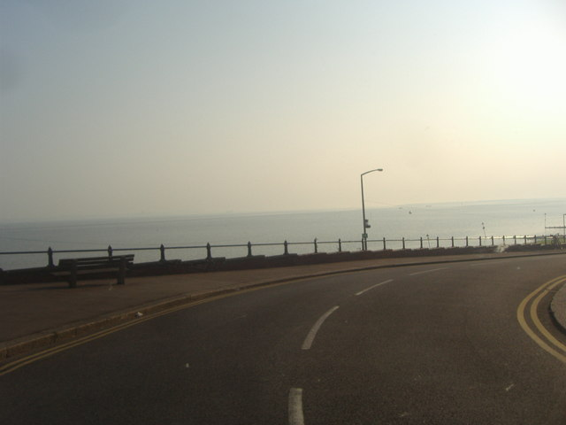 First sight of the sea, Shorefield Road