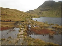 NY2807 : Path beside Stickle Ghyll by Graham Robson
