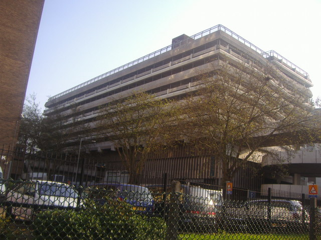 Multi-storey car park by Queensway, Southend