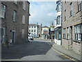 NY7708 : View down Stoneshot to North Street by John Firth
