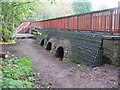 NT2570 : New bridge over the Braid Burn by M J Richardson