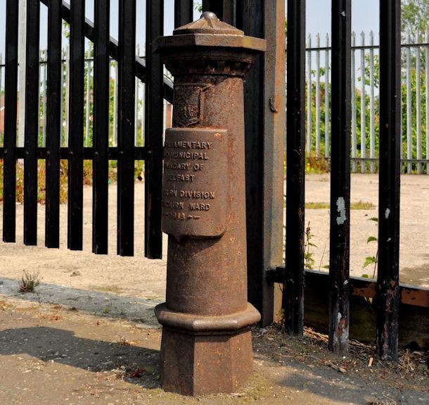 Old boundary post, Whitewell, Belfast (1)