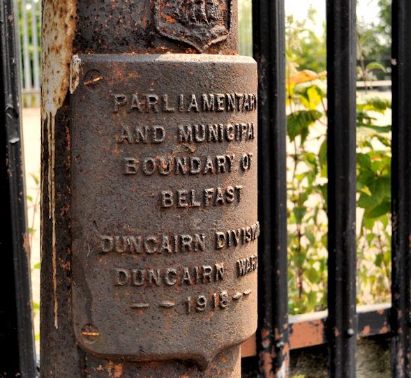 Old boundary post, Whitewell, Belfast (2)