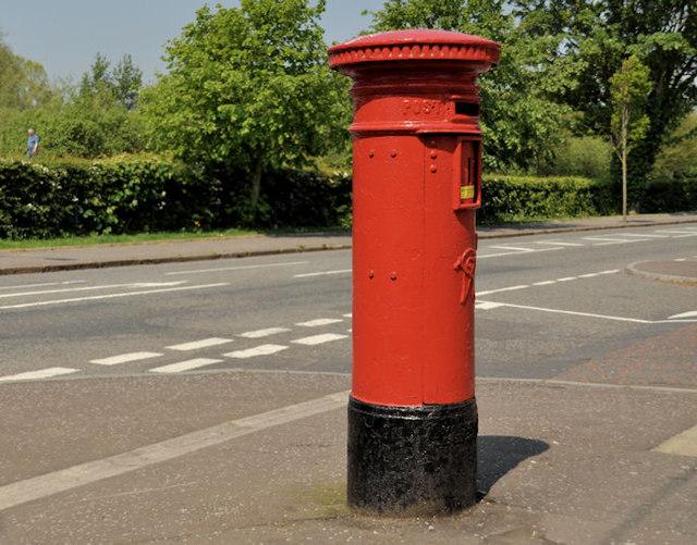Victorian pillar box, Belfast