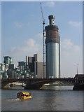TQ3078 : The Thames at Vauxhall Bridge by Gareth James
