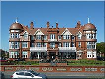 SD3228 : Grand Hotel, South Promenade, St Annes by Alexander P Kapp