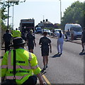 ST3086 : Olympic Torch relay heads for Maesglas, Newport by Jaggery