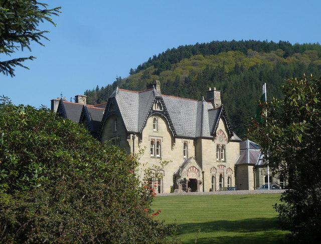 The Hall, Abbeycwmhir