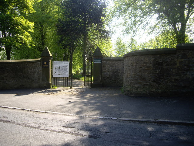 Entrance to Evenwood Cemetery